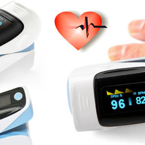 Fingertip Oxygen and Heart Rate Monitor
